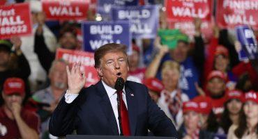 ¿Y ahora? Trump dice que después de muchos años, México está deteniendo migrantes