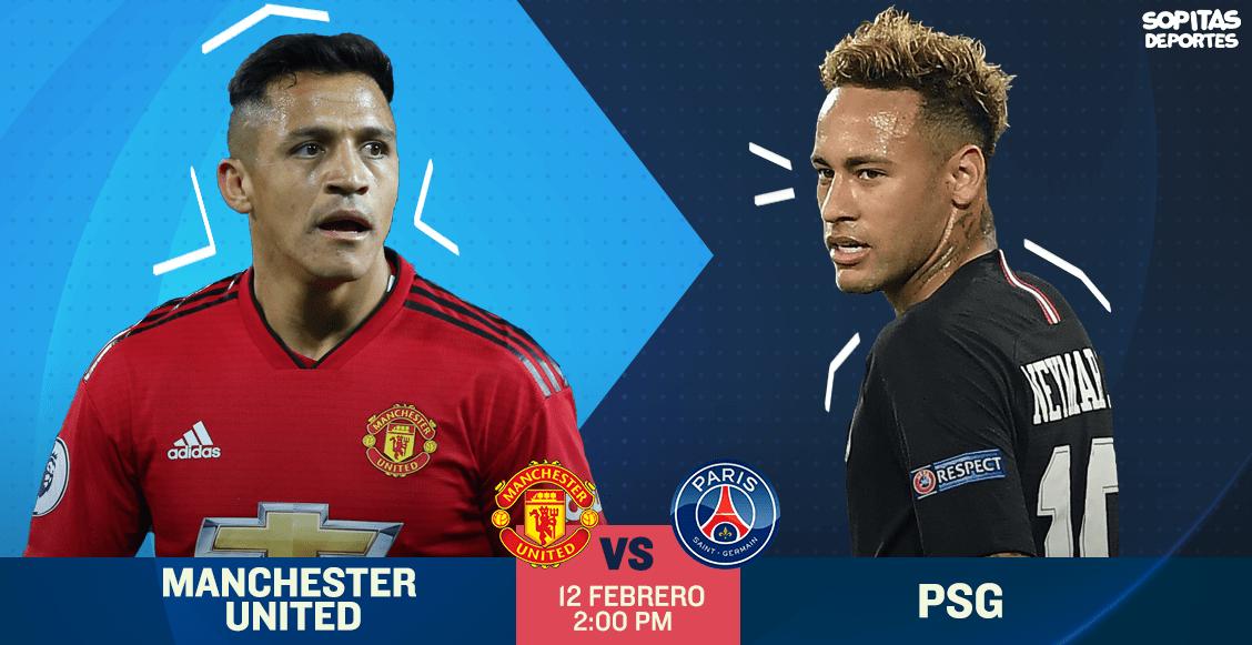 ¿Dónde, cuándo y cómo ver en vivo el Manchester United vs PSG?