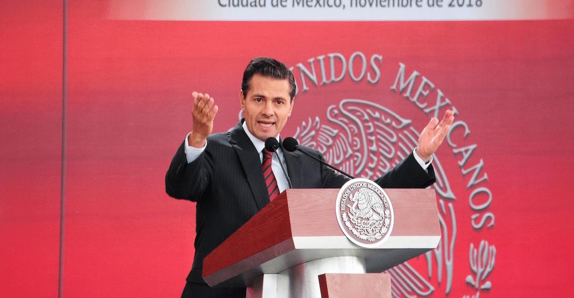 ¿No que se iba a retirar de la política? EPN es nombrado consejero nacional del PRI