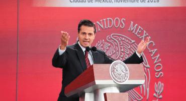 ¿No que ya se iba a retirar de la política? EPN es nombrado consejero nacional del PRI