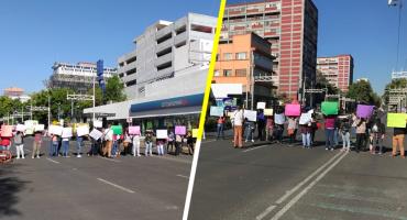 Padres de familia bloquearon Félix Cuevas; pedían la destitución del director de una escuela
