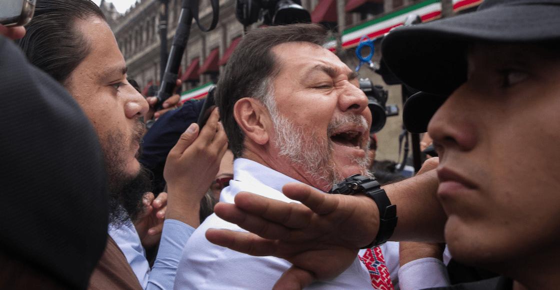 """¡Sestán peliando!: Y ahora, Noroña tacha al PAN como oposición """"pedorra"""""""