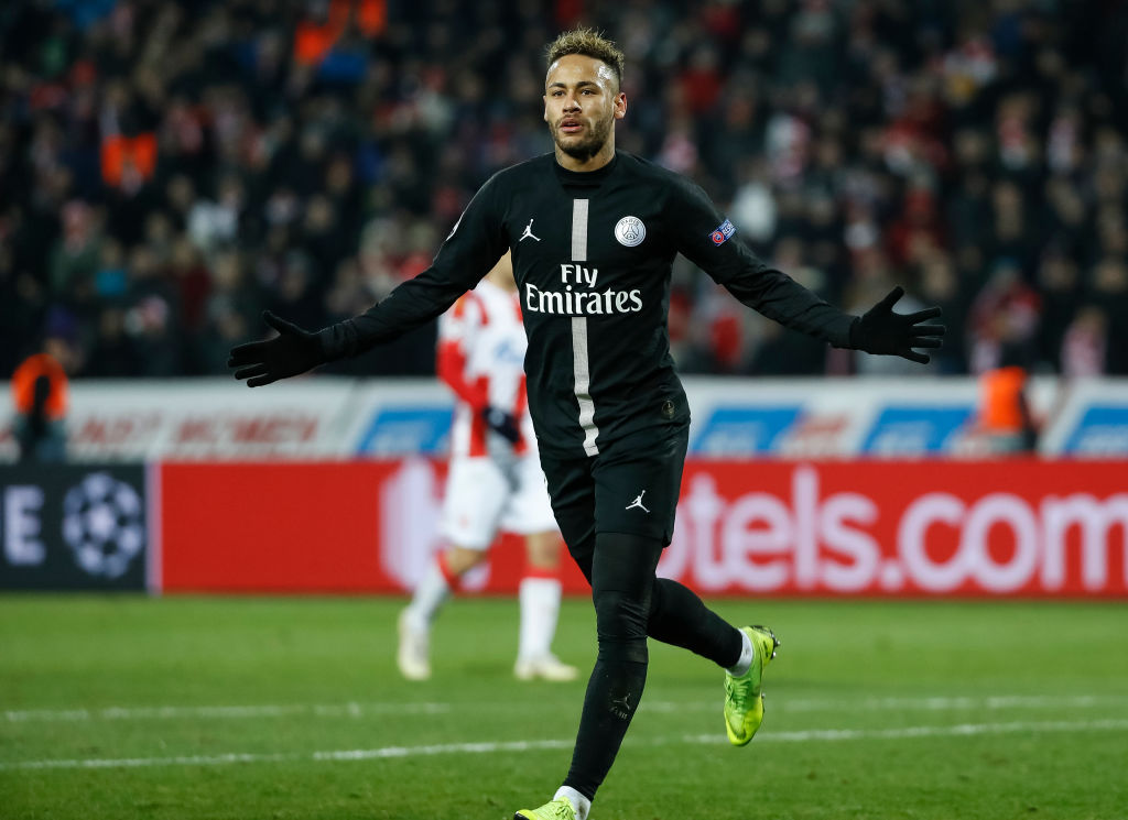 PSG se medirá al Manchester United sin los goles y la magia de Neymar