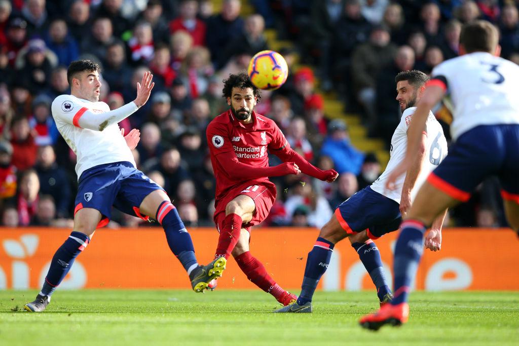 ¡Liverpool recuperó el liderato de la Premier tras golear al Bournemouth!