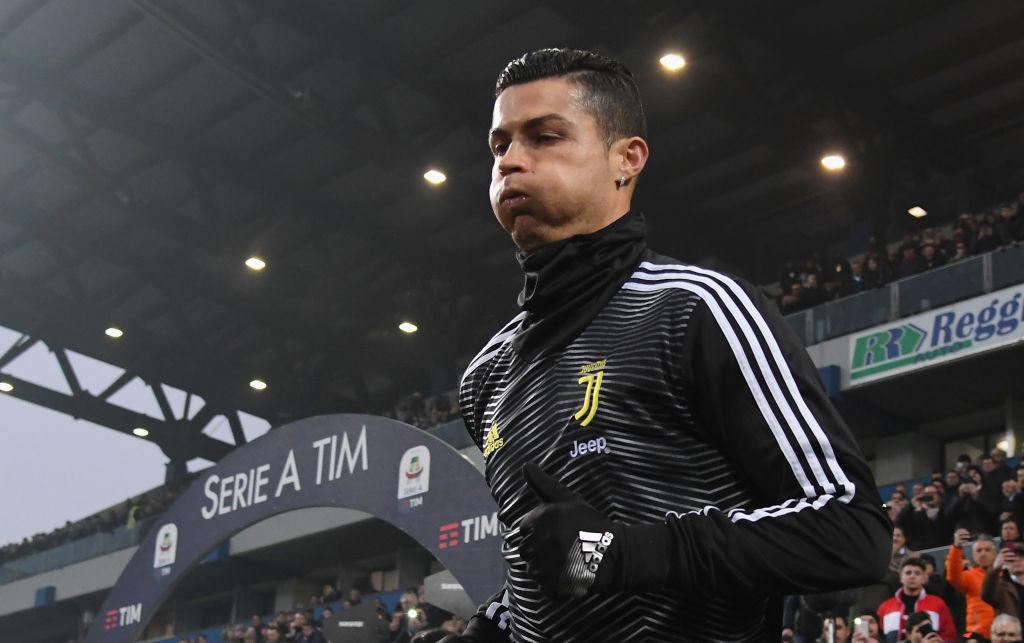 ¡18 en la Serie A! Cristiano Ronaldo le marcó gol al Sassuolo