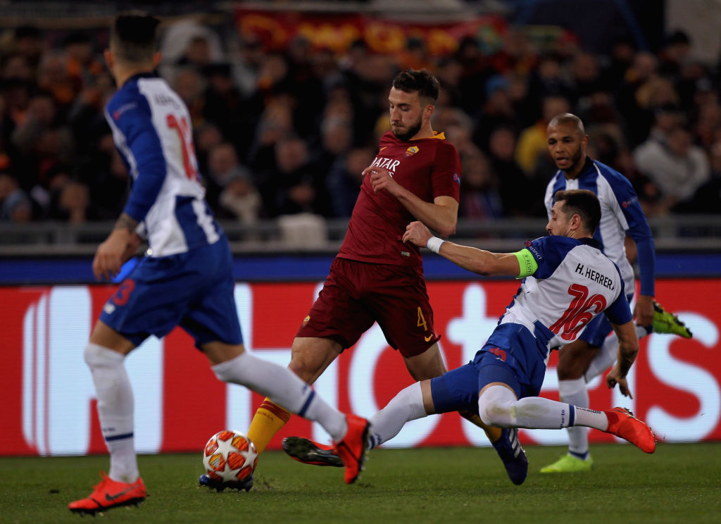 ¡Por fin! La Roma le ganó por primera vez al Porto en toda su historia