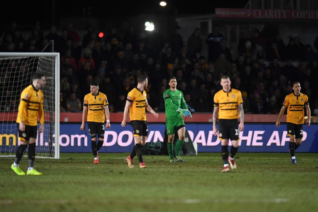 A 'medio gas', Manchester City venció al Newport Country en la FA Cup