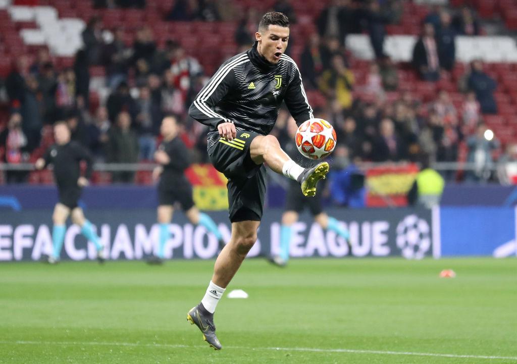 ¡Siiiiiuuuu! Cristiano Ronaldo le anotó al Atlético en la Champions League