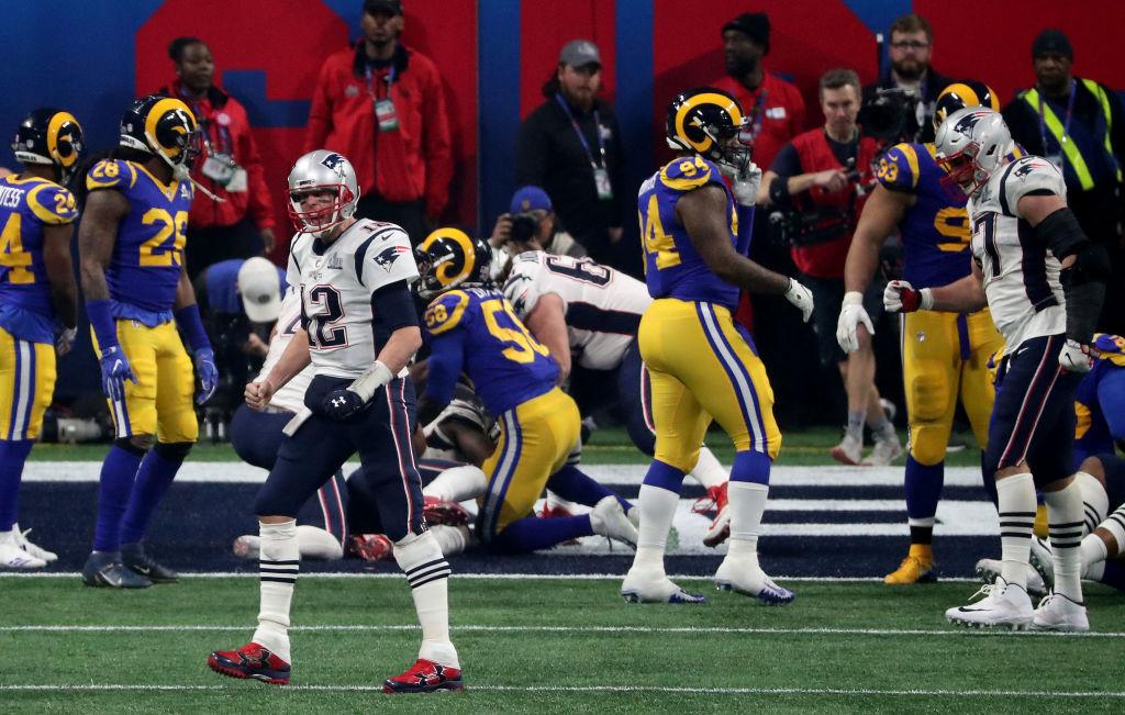 En imágenes: El primer touchdown del Super Bowl LIII para los Patriots... y quizá el único