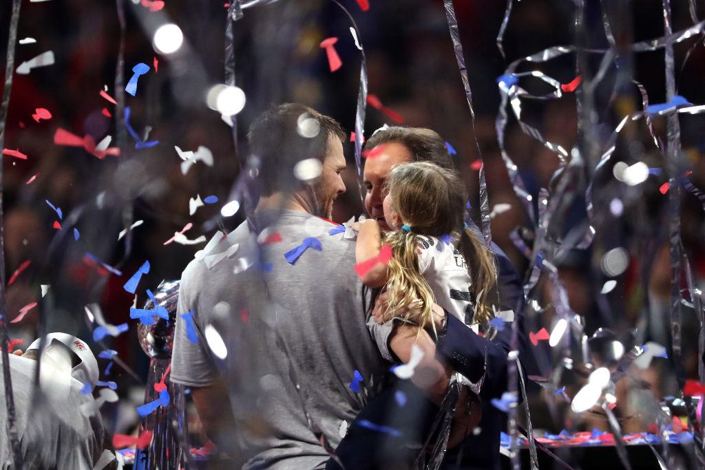 En imágenes: Los mejores momentos del festejo de los Patriots al ganar el Super Bowl LIII
