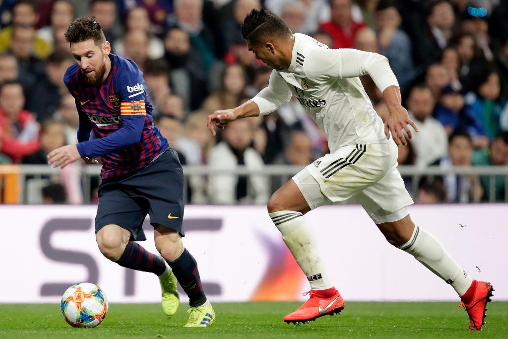 En imágenes: Así vivió Lionel Messi su Clásico Español número 40