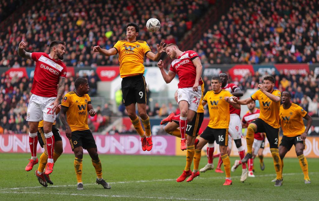 Wolverhampton eliminó al Bristol City en la FA Cup y sueña con su primer campeonato