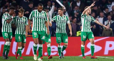 Revive el golazo olímpico y el empate en el Betis-Valencia de la Copa del Rey