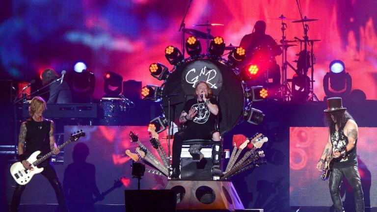 No es un sueño, habrá nuevo disco de Guns 'N Roses