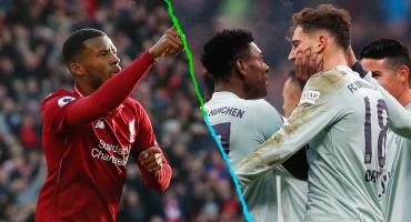 Por primera vez, Liverpool y Bayern Múnich se enfrentarán en Champions League
