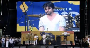 Juanes detuvo dos veces su concierto en Venezuela Live Aid por disturbios en el público