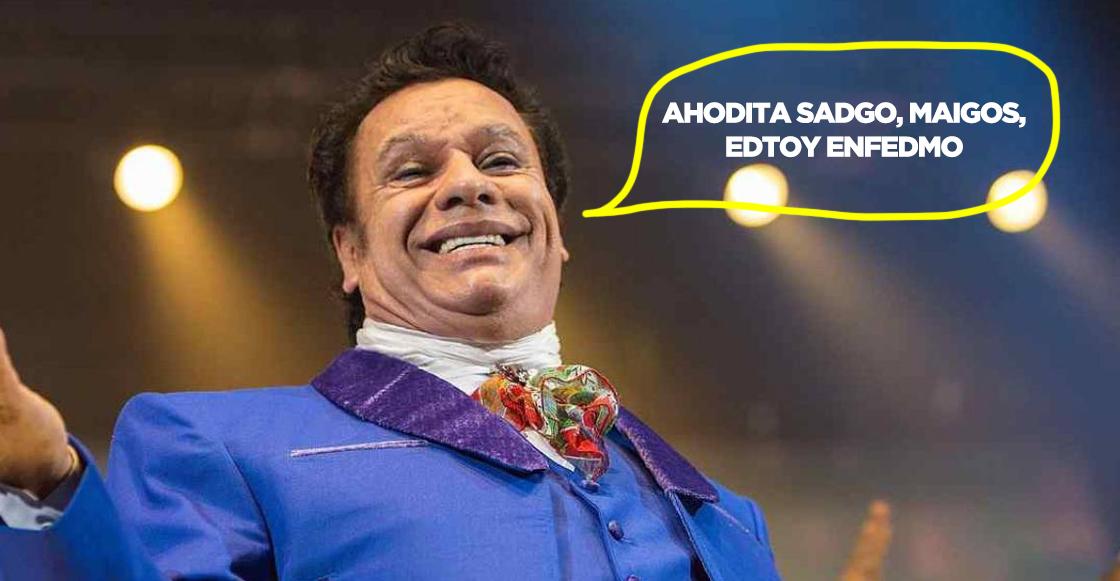 ¡AY YA 100TC! Dice el exrepresentante de Juan Gabriel que el Divo no ha salido aún porque 'tiene tos'...