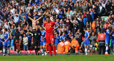 Steven Gerrard y el peor día para la afición del Liverpool