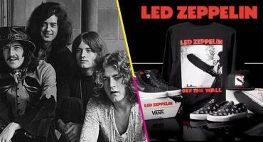 Para entrarle a la nostalgia: Led Zeppelin sacó una línea de ropa junto a Vans