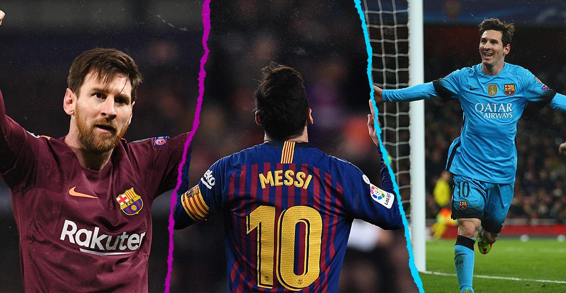 ¡D10S! Los 25 goles de Messi en Octavos de Final de la Champions League