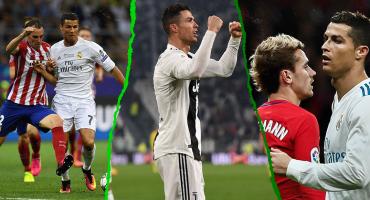 Así le ha ido a Cristiano Ronaldo frente al Atlético de Madrid