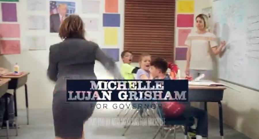 Spot de la gobernadora de Nuevo México, Michelle Lujan Grisham