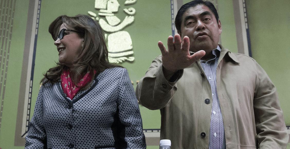 Barbosa confirma que sí se apunta como candidato de Morena para la gubernatura de Puebla