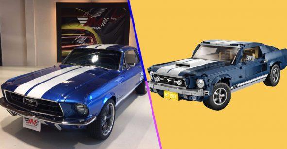¡Wow! LEGO hizo una réplica del Mustang 67 para que pases horas armándola