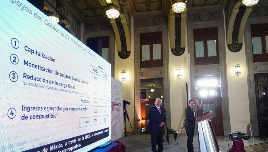Plan AmLO Pemex conferencia