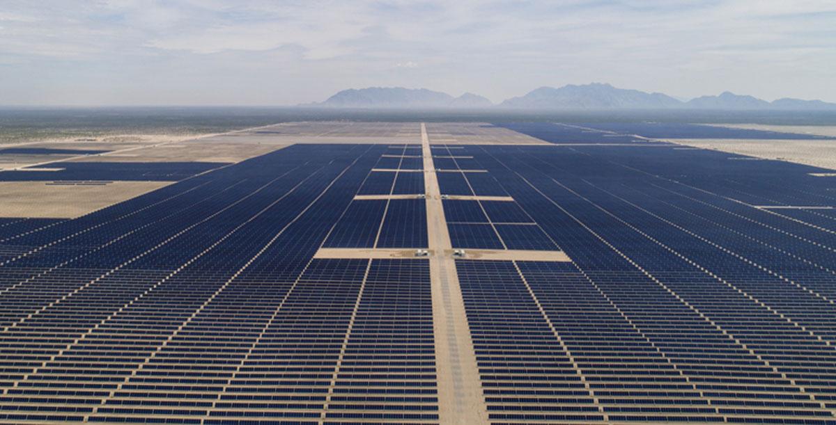 Planta Solar Mas grande de Latinoamerica en México