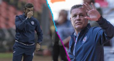 Las reacciones de Caixinha y Peláez a la eliminación de Cruz Azul en Copa MX