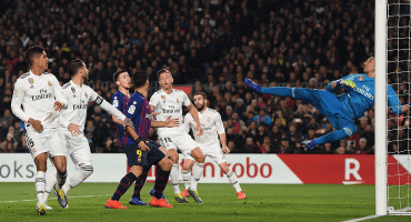 ¡Talismán Navas! Real Madrid nunca ha perdido en el Camp Nou con Keylor