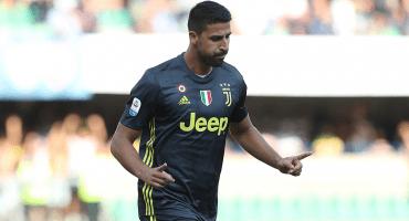 Sami Khedira causará baja 1 mes con la Juventus por una arritmia cardiaca