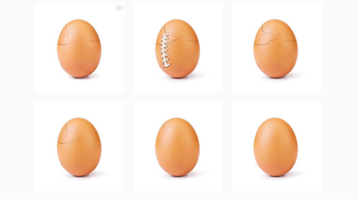 Más que 18 millones de likes: El huevo de Instagram es una campaña de salud mental