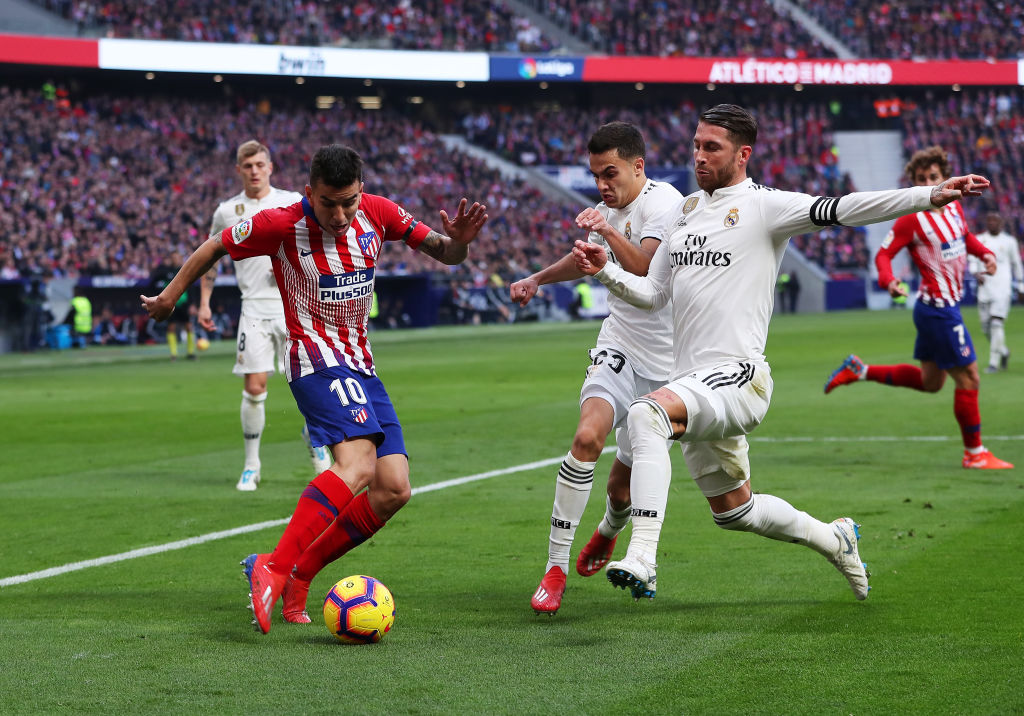 En imágenes el triunfo del Real Madrid en el derbi ante el Atlético de Madrid