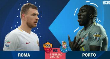 ¿Cómo, dónde y cuándo ver en vivo el Roma vs Porto?