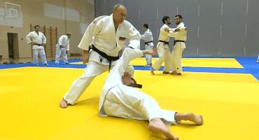 ¡Toing! Vladimir Putin se puso a entrenar judo... ¡y se lesionó!