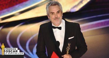 'ROMA' hace historia al ser la primera película mexicana en llevarse Oscar en Película Extranjera