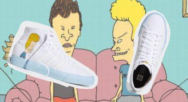 ¡Oh, dulce nostalgia! Llegaron los nuevos tenis de Adidas de Beavis and Butt-Head
