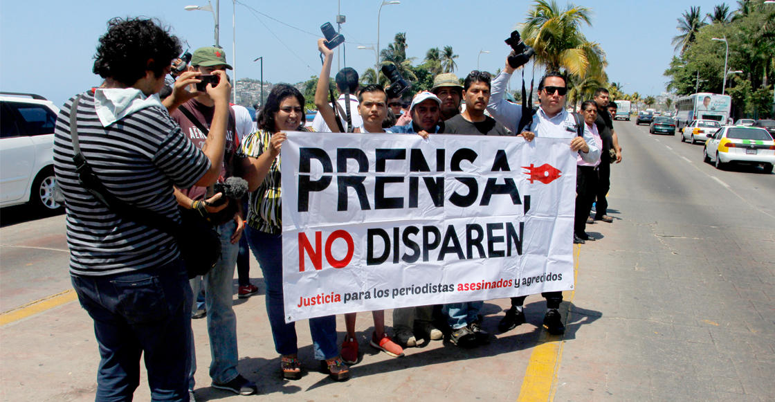 Más del 99% de las agresiones contra periodistas se quedan impunes en México