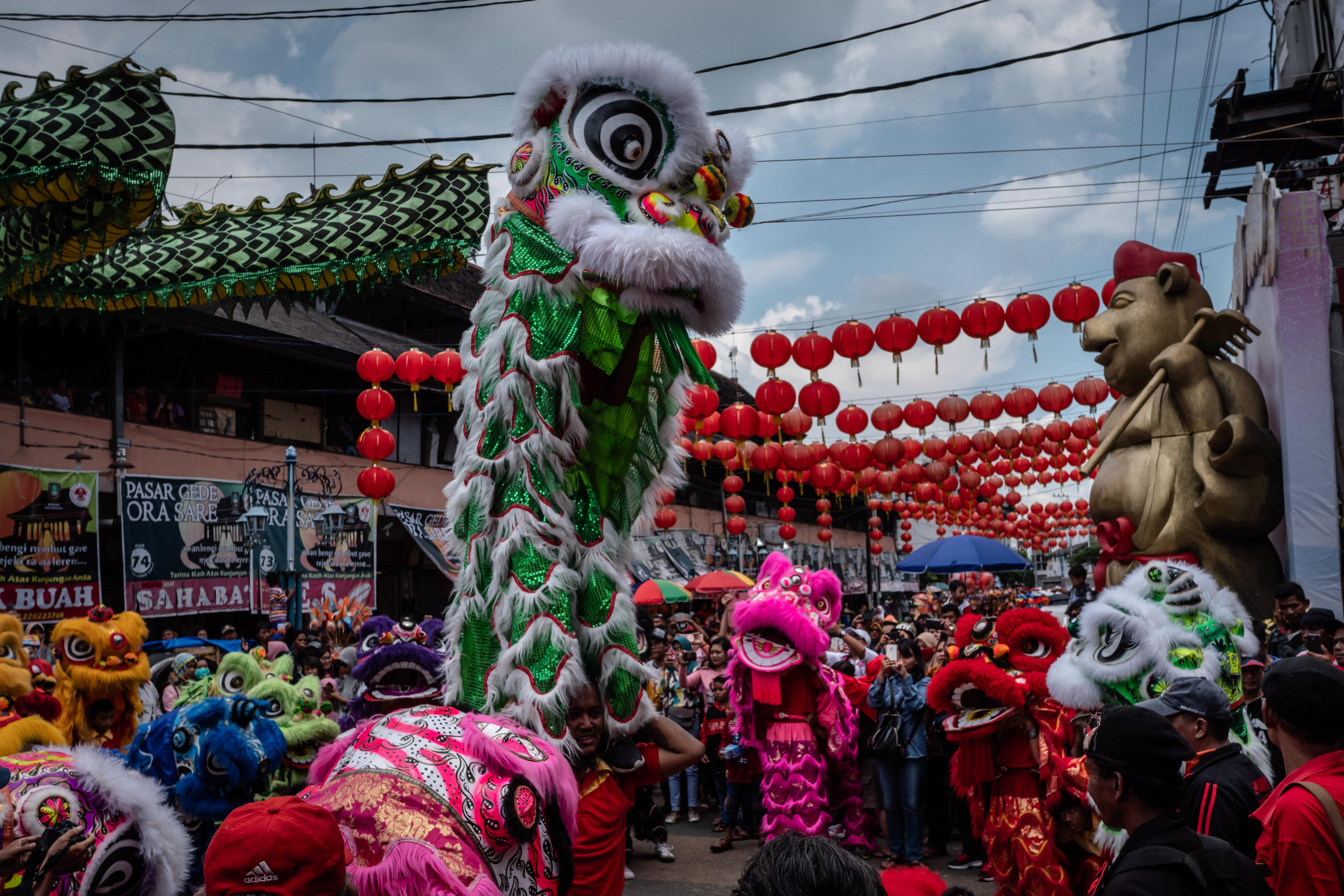20 fotografías de cómo el mundo recibió el Año Nuevo Chino