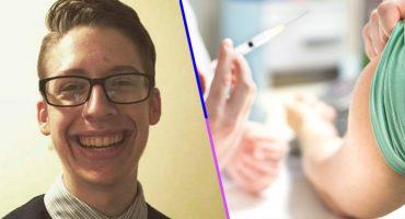 Fuck the Police: Un joven mandó ALV a sus padres antivacunas y se vacunó al cumplir 18 años