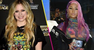 "¿Pero qué pasó ahí? Avril Lavigne hace dueto con Nicki Minaj para ""Dumb Blonde"""