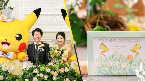 ¡Nerdgasmo! En Japón ya hay bodas con temática de Pokémon