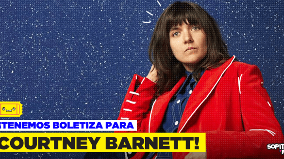 I don't know a lot about you but... ¡Tenemos boletos para Courtney Barnett!