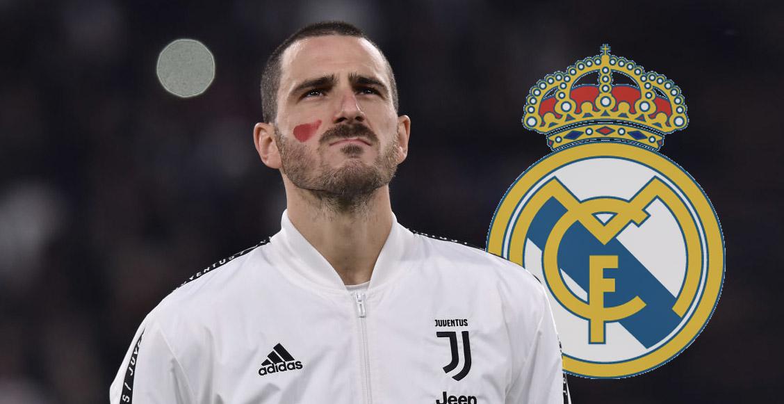 Bonucci rechazó al Real Madrid para ir a la Juventus: