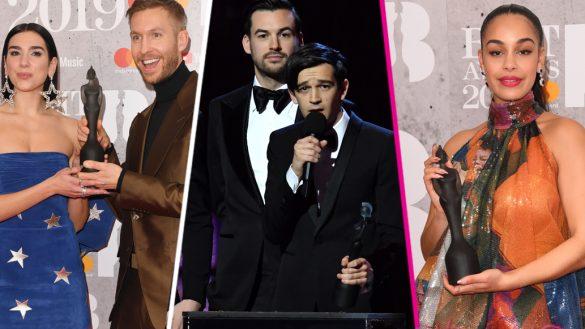 The 1975, Dua Lipa, Ariana Grande... Ellos son todos los ganadores de los BRIT Awards 2019