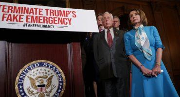 ¡Tsss! Cámara de Representantes vota por eliminar declaratoria de emergencia de Trump