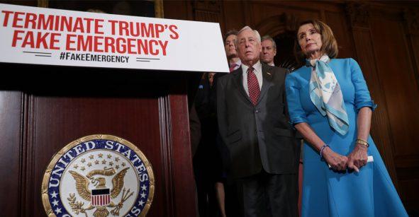 Cámara de Representantes vota por eliminar declaratoria de emergencia de Trump