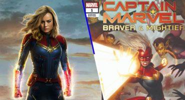 Lanzan edición especial del primer cómic de 'Captain Marvel: Braver & Mightier #1'